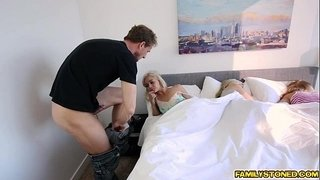 Hollie-Macks-young-pussy-fuck-doggystyle-by-step-dad