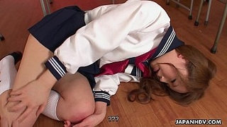 Aroused-Asian-schoolgirl-sucking-on-the-teachers-hard-dick