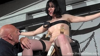 Crossed-bondage-tit-tortures-and-sexual-domination-of-screaming-brunette-fetish