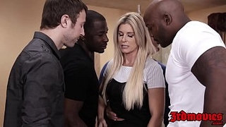 Professor-India-Summer-fed-jizz-after-IR-gangbang