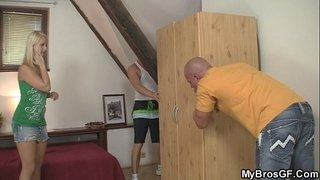 European-blonde-jumps-at-his-cock-as-her-BF-gone