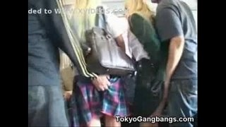 Teen-Schoolgirls-Abused-and-Molested-in-Public-Bus-by-Asian-Guys