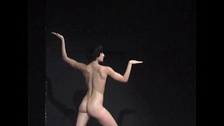 Naked-on-Stage-Performance
