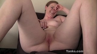 Small-Breasted-Claire-Toying-Her-Pussy