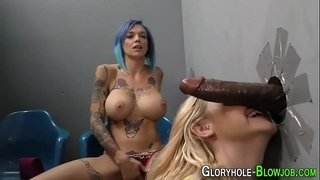 Gloryhole-sluts-share-bbc