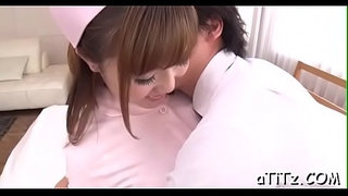 Japanese-chick-with-hot-melons-arouses-with-blowjob-and-titty-fuck