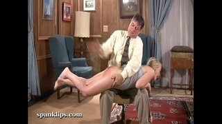 blonde-gets-her-ass-spanked-hard-with-a-hand