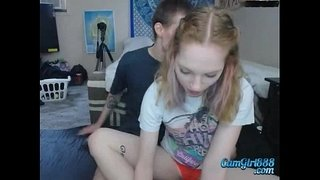 creampiegirls.webcam---Blonde-takes-boyfriend-to-home-for-sucking