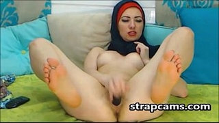 Good-Looking-Arab-Teen-Toying