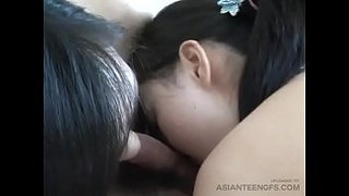 Blowjob-&-Rimjob-by-two-Chinese-models