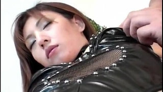 Hitomi-Ikeno-in-fishnets-has-hairy-slit-fucked-hard-after-blowjob