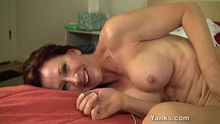 Hot-MILF-Catherine-Pleasing-Her-Pussy
