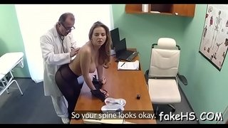Glamorous-doctor-gets-drilled-by-an-agile-fuckmate