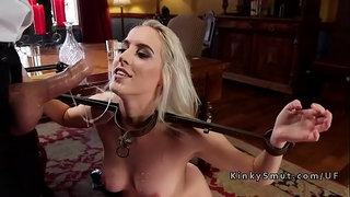 Two-blonde-stepsis-sharing-dick-in-bondage