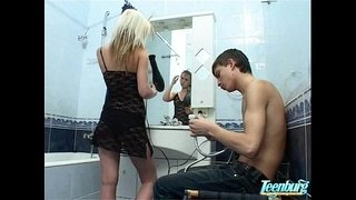 Bathroom-sex:Hot--Russian-Teen-Natasha