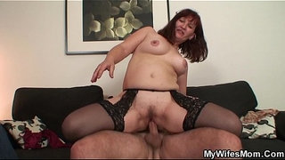 Wife-watches-mother-inlaw-rides-his-cock