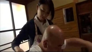 Japanese-old-man-and-not-his-daughter-in-law-the-nurse