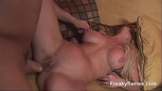 Slut-gaggs-on-a-monster-dick-before-riding-it-later-a-rough-doggy-style-fuck