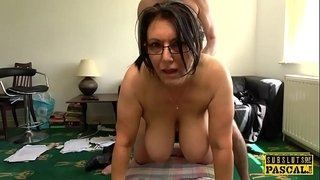 Busty-british-MILF-roughly-fucked-doggystyle