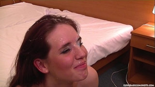 Shy-girl's-first-timer-gets-a-huge-facial!