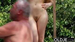 Old-Young-Porn---Teen-Fitness-Yoga-Teacher-seduces-and-fucks-an-old-man
