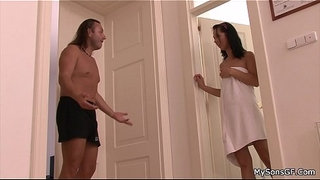 Old-father-forces-younger-brunette-into-sex