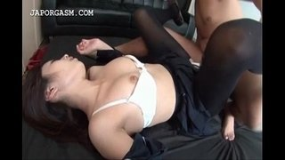Asian-schoolgirl-nailed-deep-thru-torn-stockings