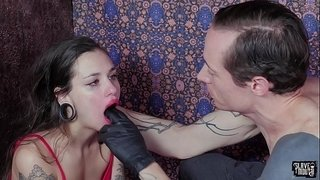 Tiny-slave-gets-roughly-face-fucked