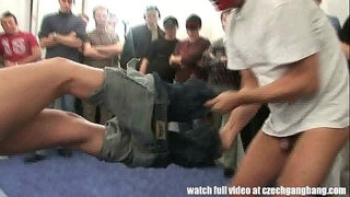 Tight-Blond-Chick-Gets-Extreme-Hardcore-GangBang