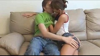 Beautiful-teenager-making-out-in-her-parent's-livingroom---Copy