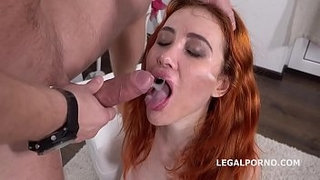Mr.-Anderson's-Anal-Casting-with-Gisha-Forza-Balls-Deep-Anal,-Gapes,-Rough-Sex,-Cum-in-mouth-GL068