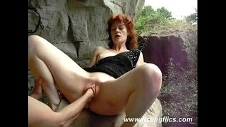 Amateur-wife-is-fist-fucked-outdoors
