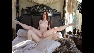 Redhead-Ballerina-Loves-Cock-Up-The-Ass
