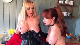 Busty-British-MILF-Red-wants-pussy-for-dinner