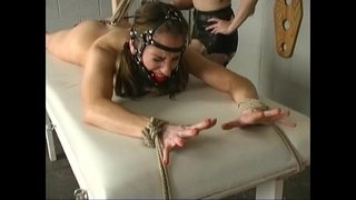 Redhead-slave-Natali-demore-tied-forced-cum-sexy-by-lesbian