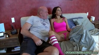 Stepdad-loves-to-sniff-her-panties-before-fucking-her