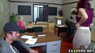 Hot-teacher-rides-her-pussy-on-top-of-students-big-cock