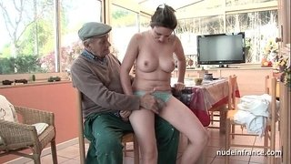 Nice-titted-french-brunette-banged-by-Papy-Voyeur