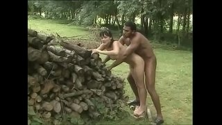White-brunette-is-outdoor-fucked-by-a-black-worker